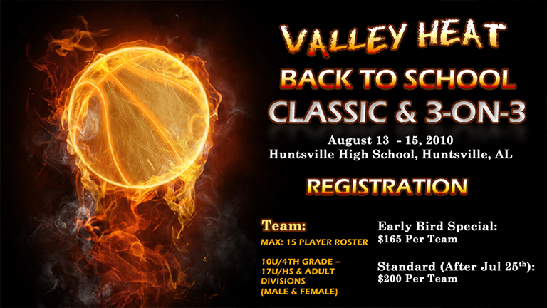 Valley Heat Back to School 3-on-3 Basketball