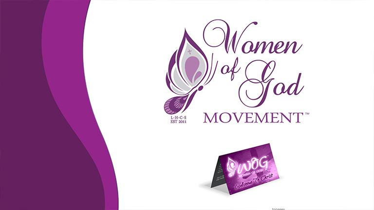 Women of God Logo Design